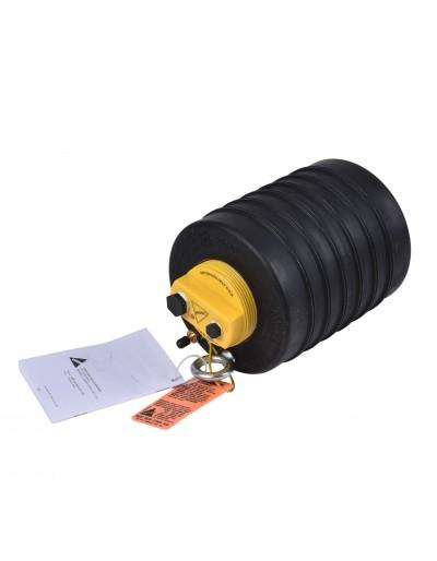 """Obturador Neumático 8"""" Con Bypass De 3"""" Hembra Con Rango De Uso (mm) : 178-210"""