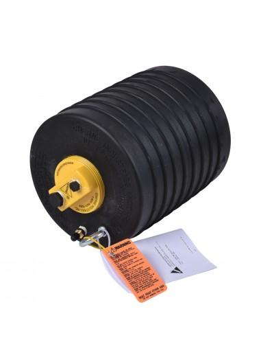 """Obturador Neumático 10"""" Con Bypass De 3"""" Hembra Con Rango De Uso (mm) : 229-260"""