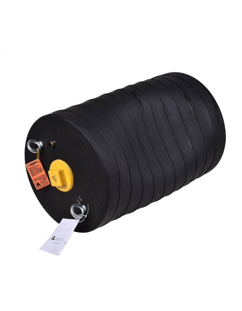 """Obturador Neumático 18"""" Con Bypass De 4"""" Hembra Con Rango De Uso (mm) : 445-504"""