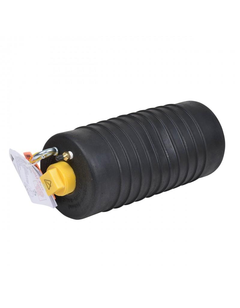 """Obturador Neumático 8-10"""" Con Bypass De 2"""" Hembra Con Rango De Uso (mm) : 178-260"""