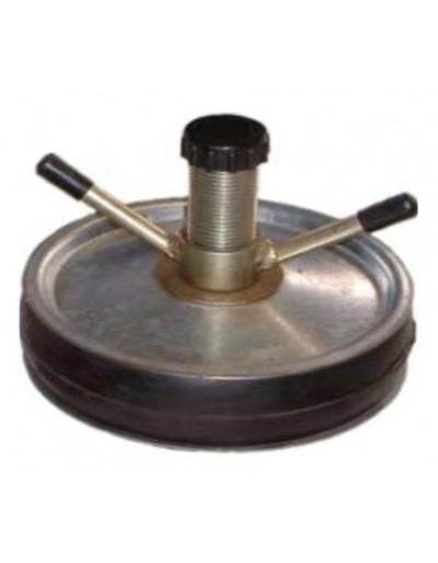 """Tapón Obturador Mecánico Acero 3 1/2"""" - 90mm Con Bypass 1/2"""" Con Rango De Uso (mm) : 84-100"""