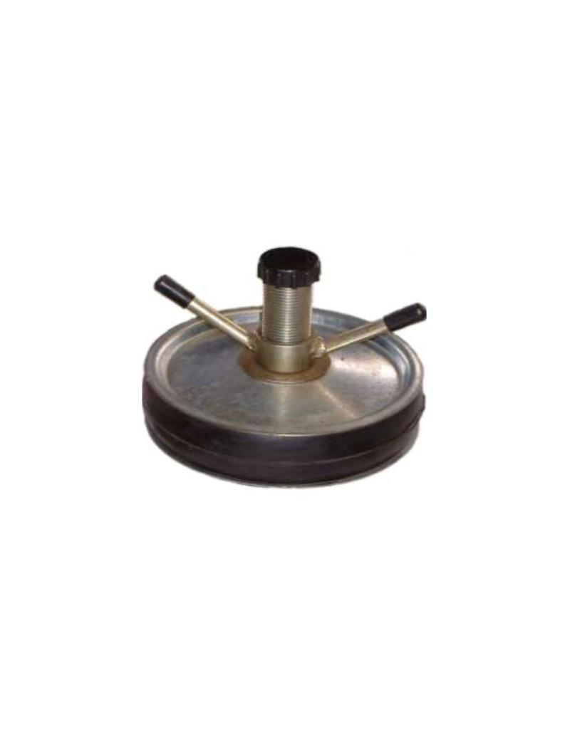 """Tapón Obturador Mecánico Acero 5"""" - 125mm Con Bypass 1/2"""" Con Rango De Uso (mm) : 124-139"""