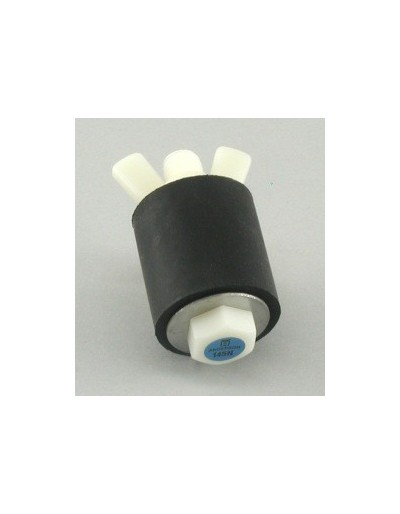 11/16 In. Tapones de prueba de nylon cerrados Con Rango De Uso (mm) : 17-21
