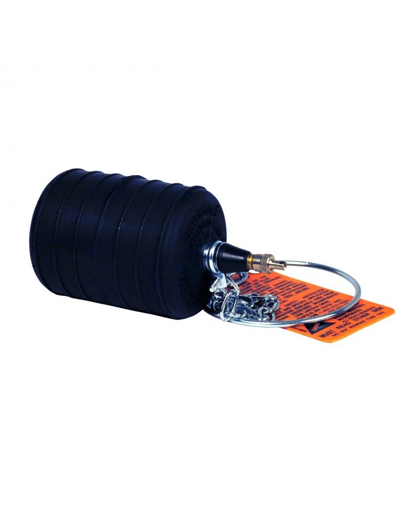 """Obturador Neumático 3"""" Con Rango De Uso (mm) : 70-83"""