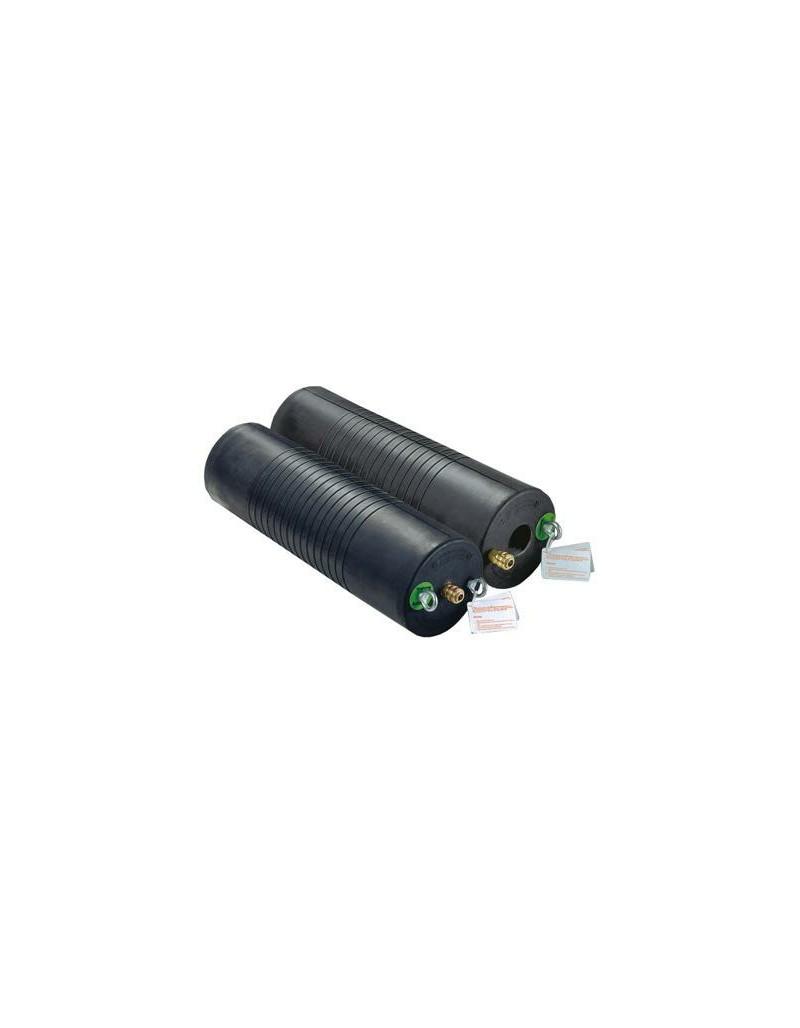 Obturador Neumatico Plugy Nbr 100-150 Resistente A Quimicos (Goma Nitrilo) Con Rango De Uso (mm) : 100-150