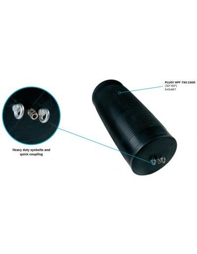 "Obturador Neumático Plugy 750-1500 - 30""-60"" Con Rango De Uso (mm) : 750-1500"
