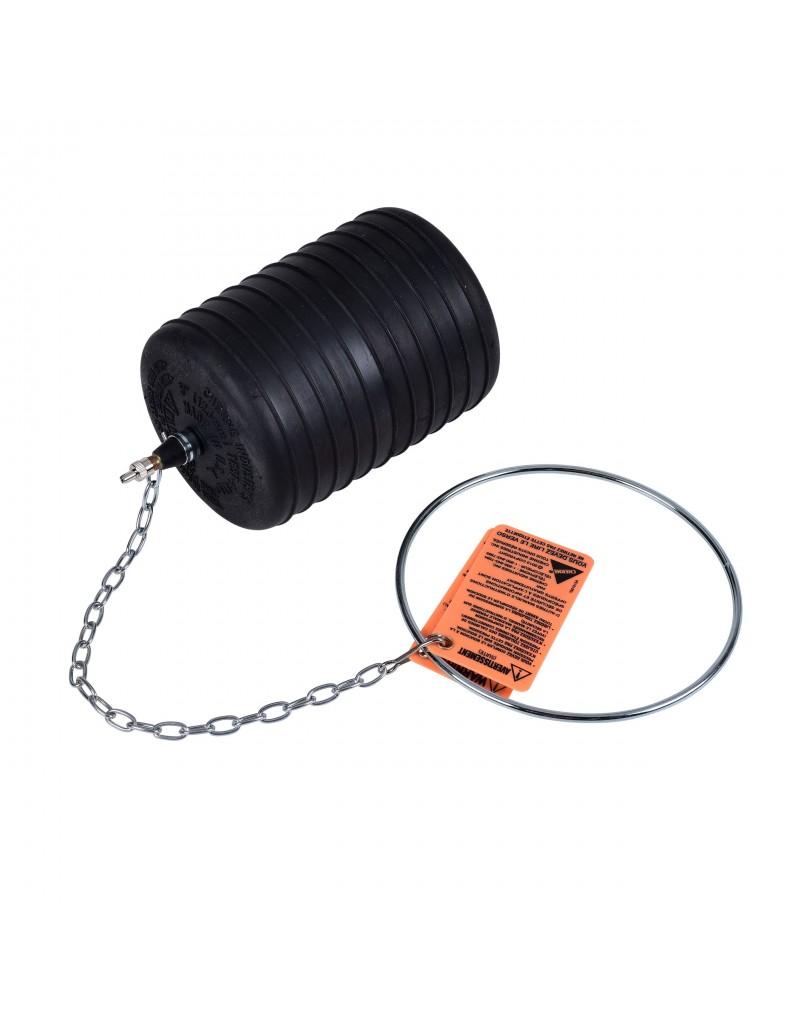 """Obturador Neumático 5"""" Con Rango De Uso (mm) : 117-133"""